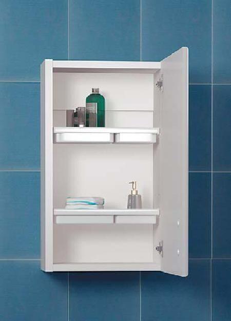 Навесной шкафчик в ванную